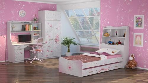 Мебель для детской из серии «Принцесса»