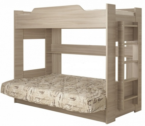двухъярусная кровать с диваном боровичи купить по цене 15 100 рублей