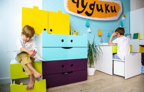 Мебель для детской из серии «Чудики»