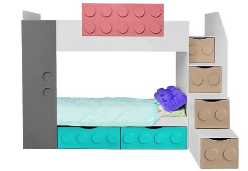Мебель для детской из серии «Леголенд»