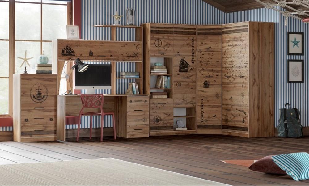 Мебель для детской из серии «Фрегат»