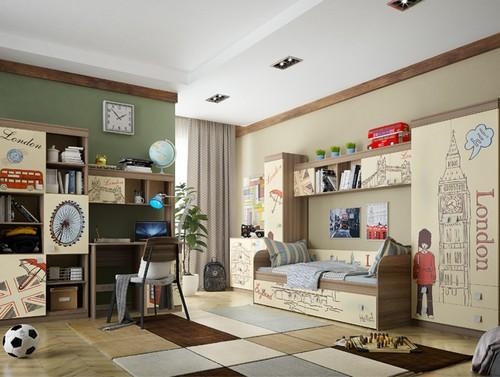 Мебель для детской из серии «Челси»