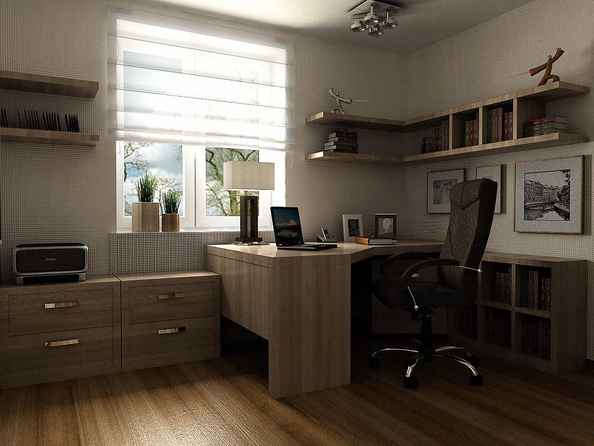 Дизайн домашнего кабинета с фото