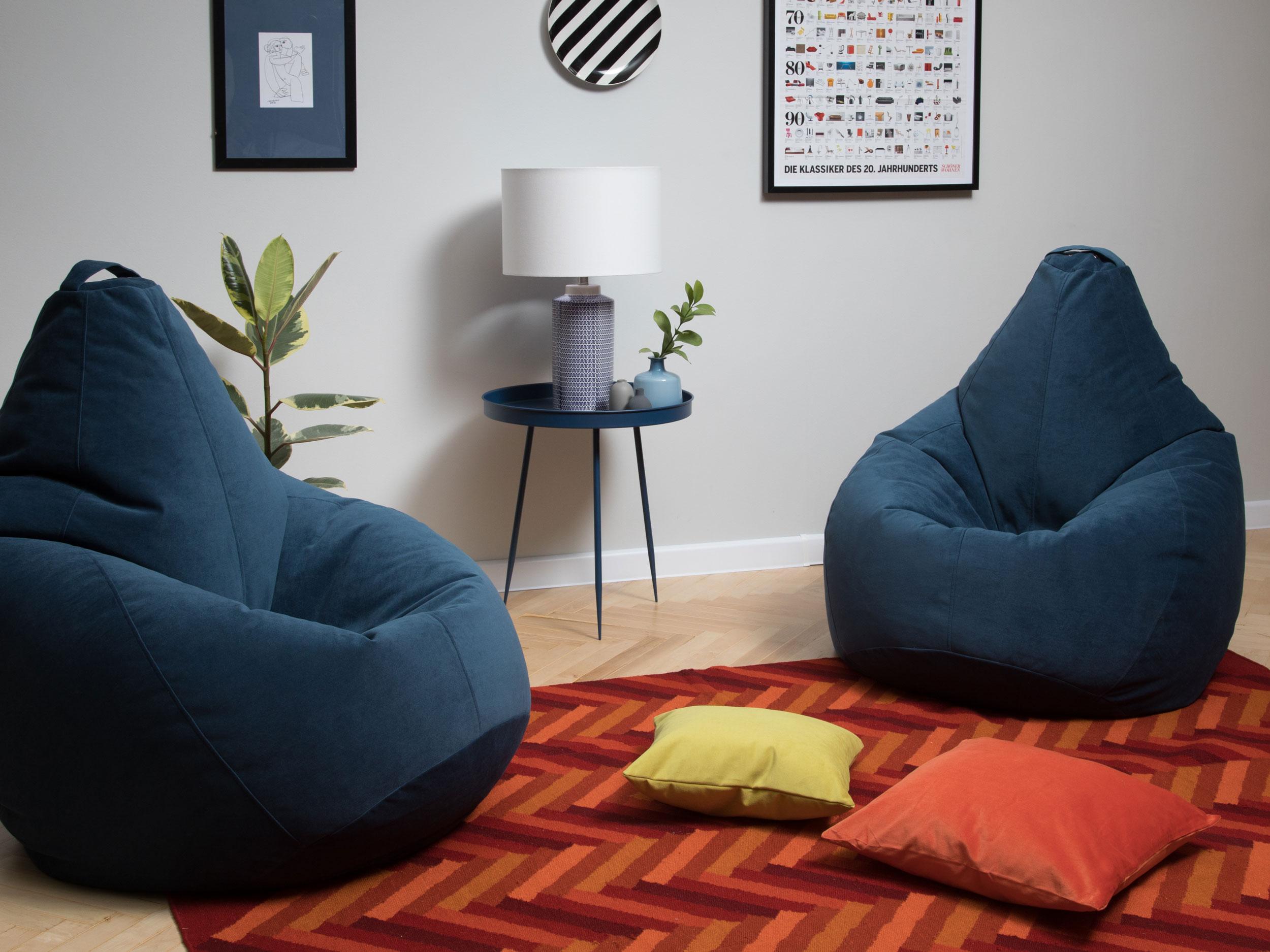 Кресла мешки от компании SanchoBag - оригинальная деталь интерьера