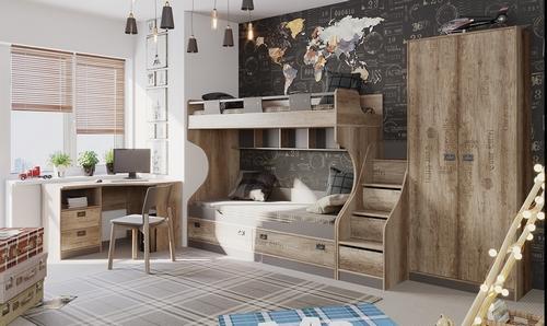 Мебель для детской из серии «Пилигрим»