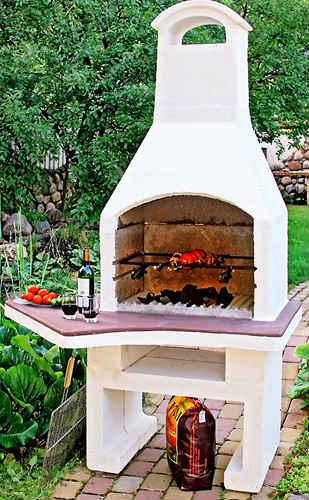 Садовая печь барбекю «Гурман-3»