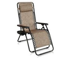 Кресло-шезлонг Фиеста коричневое