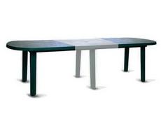 Вставка для овального стола белая