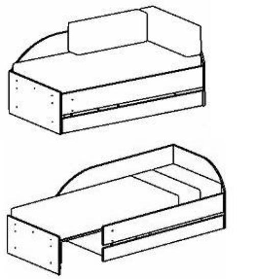 Диван кровать трансформер своими руками чертежи