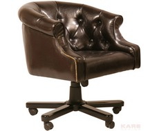 Стул офисный African Queen Office Chair Duke Coffee