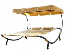 Шезлонг-кровать KM-080 (бежевый)