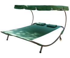Шезлонг-кровать KM-080 (зелёный)
