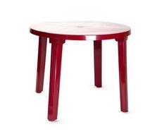 Стол круглый 900х710 мм АГР (бордовый)