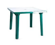 Стол пластиковый квадратный 90 х 90 см (зеленый)
