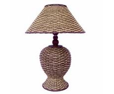 Лампа плетеная серая большая (артикул: LW-07) .