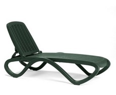 Лежак TROPICO зеленый