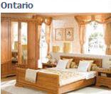 Модульная система мебели для спальни Онтарио в цвете клен отнарио (вариант 1)