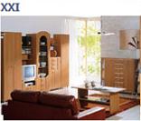 Модульная система мебели для офиса ХХI век в цвете ольха (вариант 1)