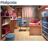 Модульная система мебели для детей Малгося (Malgosia) в цвете бук-синий (вариант 1)