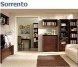 Модульный набор мебели для офиса Сорренто (Sorrento) в цвете дуб кантбери (вариант 1)