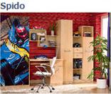 Стол письменный SBIU1d1s из набора детской мебели Спидо (SPIDO)