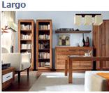 Модульная система мебели для офиса Ларго (Largo) в цвете дуб тесаный (вариант 1)