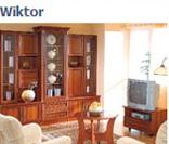 Модульная система мебели для гостиной Виктор в цвете орех (вариант 1)