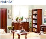 Модульная система мебели для кухни Наталия (Natalia) в цвете вишня примавера (вариант 1)