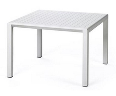 Пластиковый стол Aria 60 (белый)