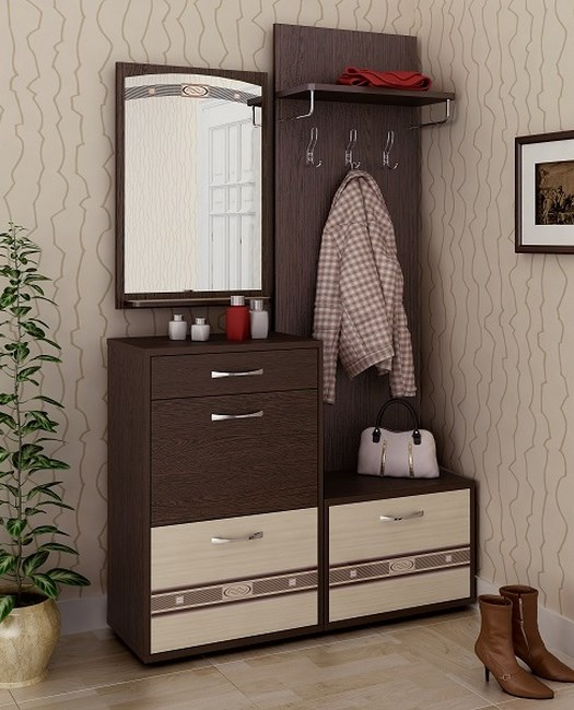 Мебель для узкой прихожей фото