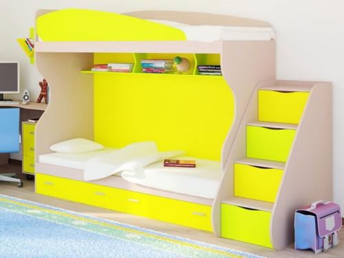 кровать 2х ярусная детская фото
